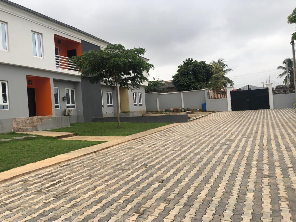 Newly Built semi-detached Twin Duplex at General Gas with C of O